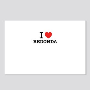 I Love REDONDA Postcards (Package of 8)